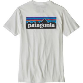 Patagonia M's P-6 Logo Organic T-Shirt White